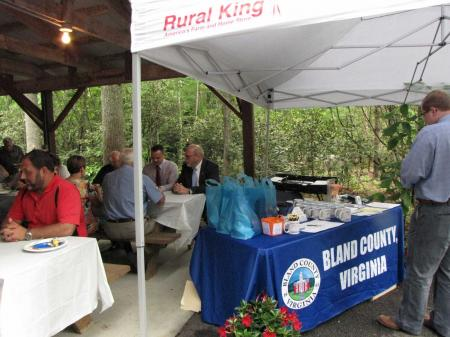 Cover for Bland County EDA picnic 2019