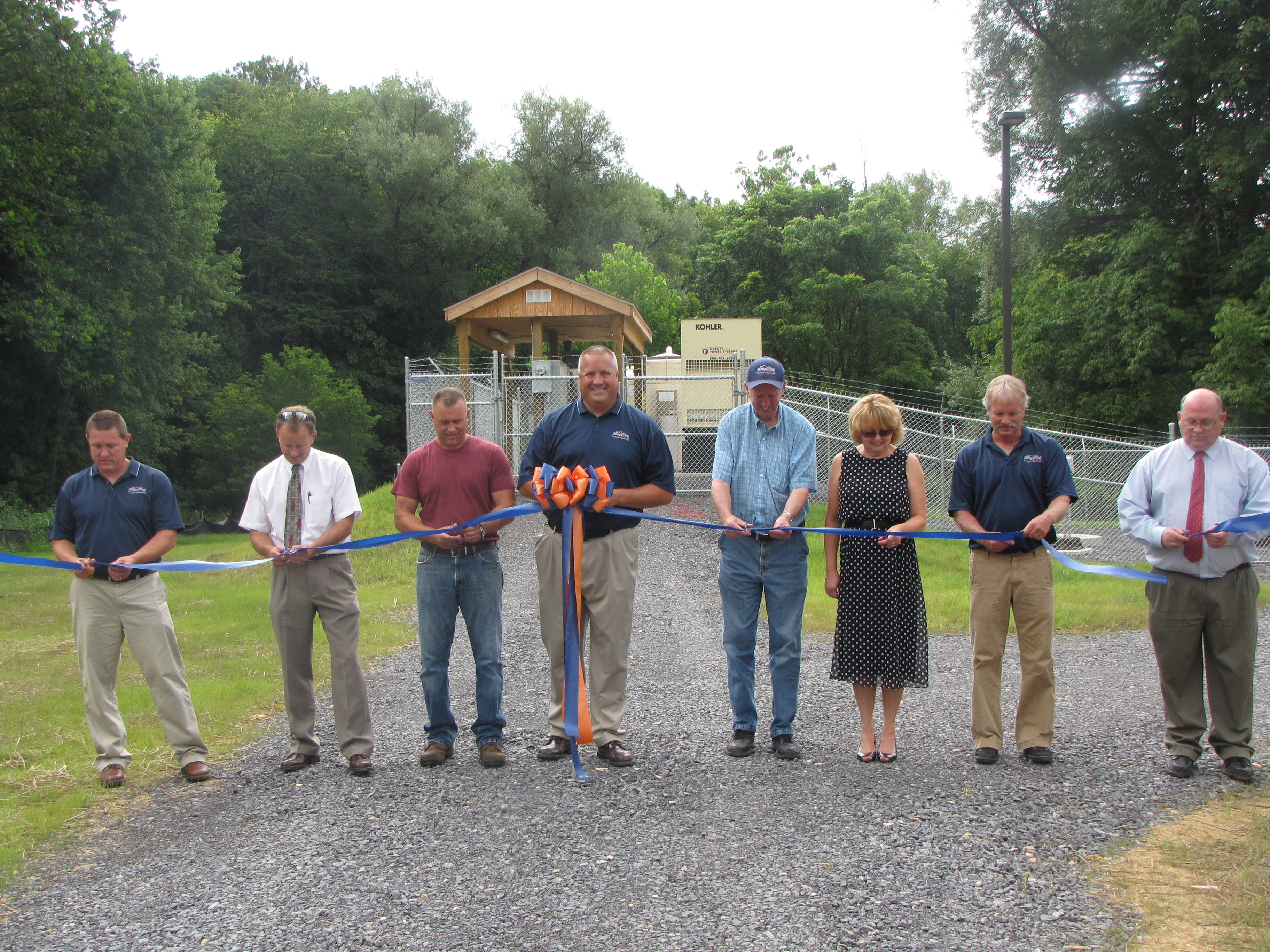 Bland Community Sewer Project Ribbon Cutting