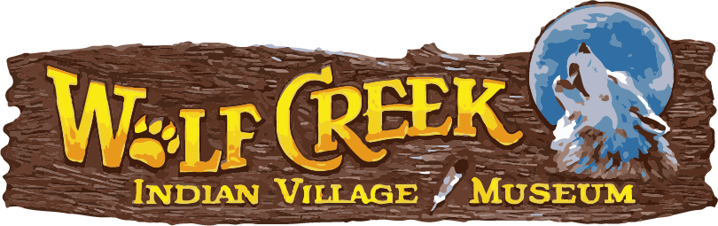 Header for Wolf Creek Indian Village and Museum