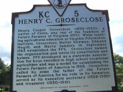 Henry C. Groseclose Virginia Historical Marker KC5