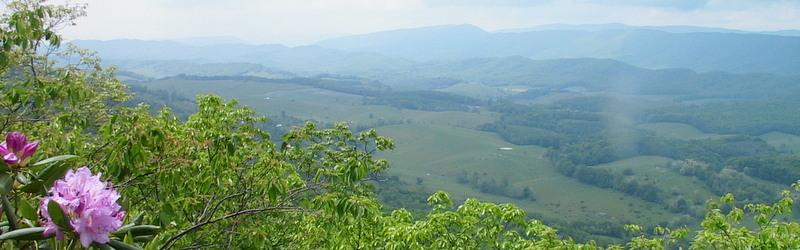 Bland County is an Appalachian Trail Community